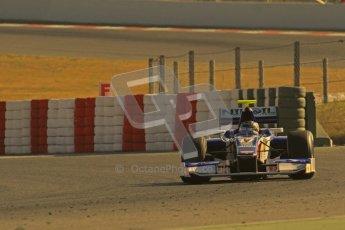 © Octane Photographic Ltd. GP2 Winter testing Barcelona Day 3, Thursday 8th March 2012. Trident Racing, Julian Leal. Digital Ref : 0237lw7d9630