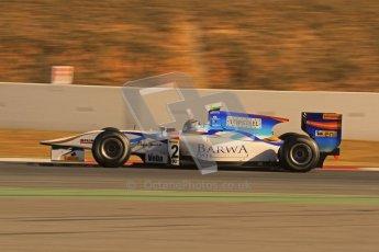 © Octane Photographic Ltd. GP2 Winter testing Barcelona Day 3, Thursday 8th March 2012. Barwa Addax Team, Josef Kral. Digital ref: 0237lw7d9699