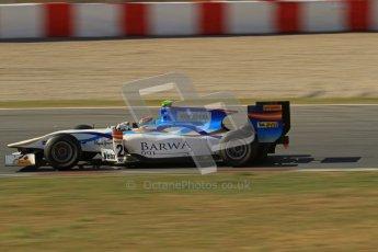 © Octane Photographic Ltd. GP2 Winter testing Barcelona Day 3, Thursday 8th March 2012. Barwa Addax Team, Josef Kral. Digital ref: 0237lw7d9998