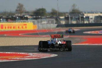 World © Octane Photographic Ltd. F1 USA - Circuit of the Americas - Friday Morning Practice - FP1. 16th November 2012. Force India VJM05 - Nico Hulkenberg. Digital Ref: 0557lw1d0853