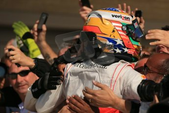 World © Octane Photographic Ltd. Formula 1 USA, Circuit of the Americas - Parc Ferme - Lewis Hamilton, Vodafone McLaren Mercedes. 18th November 2012 Digital Ref: 0561lw1d4555