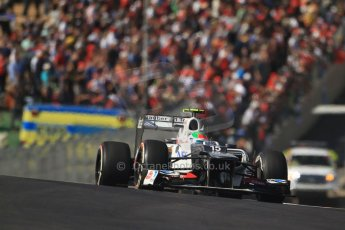 World © Octane Photographic Ltd. Formula 1 USA, Circuit of the Americas - Race 18th November 2012. Sauber C31 - Sergio Perez. Digital Ref: 0561lw7d4035