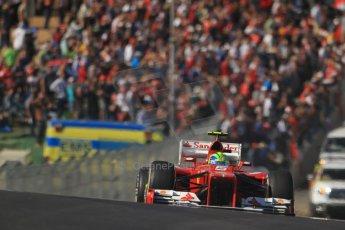 World © Octane Photographic Ltd. Formula 1 USA, Circuit of the Americas - Race 18th November 2012. Ferrari F2012 - Felipe Massa. Digital Ref: 0561lw7d4055
