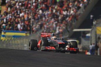 World © Octane Photographic Ltd. Formula 1 USA, Circuit of the Americas - Race 18th November 2012. Vodafone McLaren Mercedes MP4/27 - Lewis Hamilton. Digital Ref: 0561lw7d4102