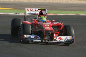 World © Octane Photographic Ltd. F1 USA - Circuit of the Americas - Saturday Morning Practice - FP3. 17th November 2012. Ferrari F2012 - Felipe Massa. Digital Ref: 0559lw1d2920