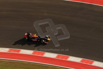 World © Octane Photographic Ltd. F1 USA - Circuit of the Americas - Saturday Morning Practice - FP3. 17th November 2012. Red Bull RB8 - Mark Webber. Digital Ref: 0559lw7d3702