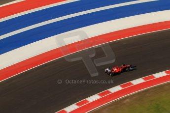 World © Octane Photographic Ltd. F1 USA - Circuit of the Americas - Saturday Morning Practice - FP3. 17th November 2012. Ferrari F2012 - Fernando Alonso. Digital Ref: 0559lw7d3717