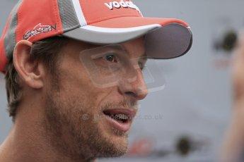 2012 © www.octanephotos.co.uk Circuit of the Americas - Thursday Paddock Interview - Jenson Button - McLaren. 15th November 2012 Digital Ref: 0556lw1d0529