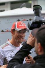2012 © www.octanephotos.co.uk Circuit of the Americas - Thursday Paddock Interview - Jenson Button - McLaren. 15th November 2012 Digital Ref: 0556lw1d0548