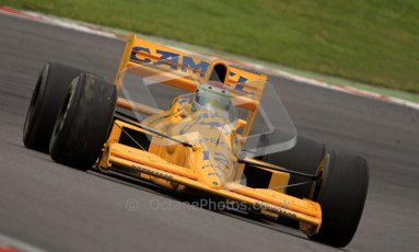© Carl Jones/Octane Photographic Ltd. 2012. Classic Lotus Festival F1 car demonstation session1  - Brands Hatch, Sunday 19th August 2012. Steve Griffiths, Lotus 101. Digital Ref : 0467CJ7D8452