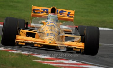 © Carl Jones/Octane Photographic Ltd. 2012. Classic Lotus Festival F1 car demonstation session1  - Brands Hatch, Sunday 19th August 2012. Steve Griffiths, Lotus 101. Digital Ref : 0467CJ7D8468