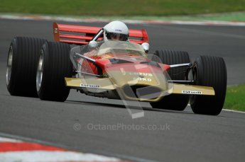 © Carl Jones/Octane Photographic Ltd. 2012. Classic Lotus Festival F1 car demonstation session1  - Brands Hatch, Sunday 19th August 2012. Lotus 49B. Digital Ref : 0467CJ7D8474