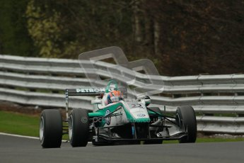 © 2012 Octane Photographic Ltd. Saturday 7th April. Cooper Tyres British F3 International - Race 2. Digital Ref : 0281lw1d3097