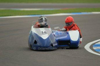 © Octane Photographic Ltd. 2012. NG Road Racing CSC Open F2 Sidecars. Donington Park. Saturday 2nd June 2012. Digital Ref : 0363lw1d9688