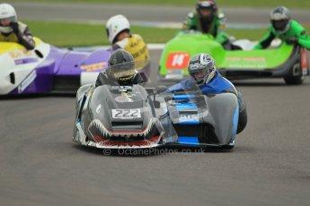© Octane Photographic Ltd. 2012. NG Road Racing CSC Open F2 Sidecars. Donington Park. Saturday 2nd June 2012. Digital Ref : 0363lw1d9700