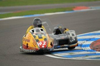 © Octane Photographic Ltd. 2012. NG Road Racing CSC Open F2 Sidecars. Donington Park. Saturday 2nd June 2012. Digital Ref : 0363lw1d9739