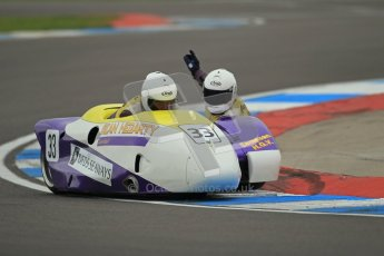 © Octane Photographic Ltd. 2012. NG Road Racing CSC Open F2 Sidecars. Donington Park. Saturday 2nd June 2012. Digital Ref : 0363lw1d9802