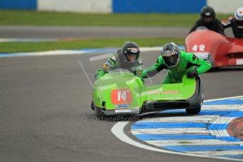 © Octane Photographic Ltd. 2012. NG Road Racing CSC Open F2 Sidecars. Donington Park. Saturday 2nd June 2012. Digital Ref : 0363lw1d9848