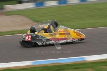© Octane Photographic Ltd. 2012. NG Road Racing CSC Open F2 Sidecars. Donington Park. Saturday 2nd June 2012. Digital Ref : 0363lw7d7740