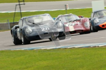 "© Octane Photographic Ltd. 2012 Donington Historic Festival. ""1000km"" for pre-72 sports-racing cars, qualifying. Chevron B8 - Adam Singer/Joe Singer. Digital Ref : 0319cb1d8464"