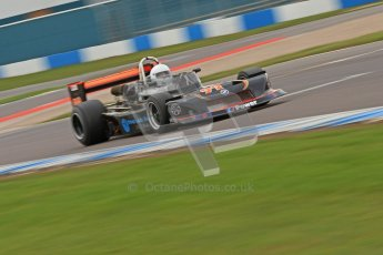 © Octane Photographic Ltd. 2012 Donington Historic Festival. HSCC Historic F2, qualifying. Jamie Brashaw - March 782. Digital Ref : 0315cb7d9835