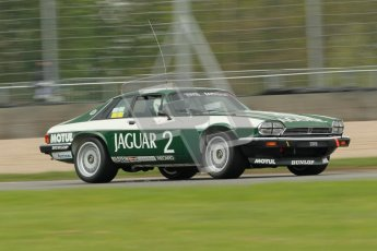 © Octane Photographic Ltd. 2012 Donington Historic Festival. JD Classics Challenge for 66 to 85 touring cars, qualifying. Jaguar TWR XJS - Alex Bunscombe/Gary Pearson. Digital Ref : 0318cb1d8255