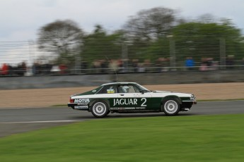 © Octane Photographic Ltd. 2012 Donington Historic Festival. JD Classics Challenge for 66 to 85 touring cars, qualifying. Jaguar TWR XJS - Alex Bunscombe/Gary Pearson. Digital Ref : 0318lw7d8717