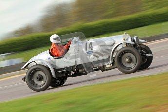 """© Octane Photographic Ltd. 2012 Donington Historic Festival. """"Mad Jack"""" for pre-war sportscars, qualifying. Clive Morley/Stuart Morely - Bentley. Digital Ref : 0314cb7d9652"""