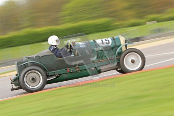 "© Octane Photographic Ltd. 2012 Donington Historic Festival. ""Mad Jack"" for pre-war sportscars, qualifying. Digital Ref : 0314cb7d9669"