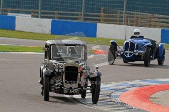 "© Octane Photographic Ltd. 2012 Donington Historic Festival. ""Mad Jack"" for pre-war sportscars, qualifying. Frazer Nash - Patrick Blakeney-Edwards. Digital Ref : 0314lw7d7026"