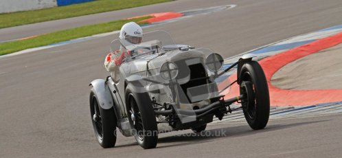 "© Octane Photographic Ltd. 2012 Donington Historic Festival. ""Mad Jack"" for pre-war sportscars, qualifying. Frazer Nash Super Sport - Fred Wakeman/Patrick Blakeney-Edwards. Digital Ref : 0314lw7d7036"