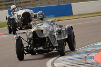 "© Octane Photographic Ltd. 2012 Donington Historic Festival. ""Mad Jack"" for pre-war sportscars, qualifying. Bentley - Richard Hudson. Digital Ref : 0314lw7d7155"
