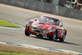 © Octane Photographic Ltd. 2012 Donington Historic Festival. Pre-63 GT, qualifying. Ferrari 250SWB - Clive Joy, Kilian Konig.  Digital Ref : 0322cb1d9267