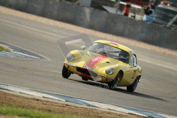 © Octane Photographic Ltd. 2012 Donington Historic Festival. Pre-63 GT, qualifying. Lotus Elite - Peter Stohrmann, Wolfgang Molitor. Digital Ref : 0322cb1d9276