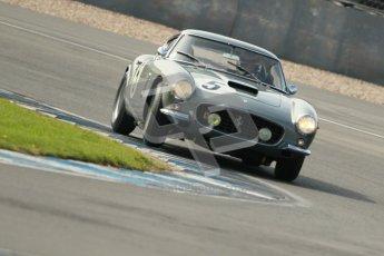 © Octane Photographic Ltd. 2012 Donington Historic Festival. Pre-63 GT, qualifying. Ferrari 250 GT Berlinetta - Lukas Huni, Frank Stippler. Digital Ref : 0322cb1d9343