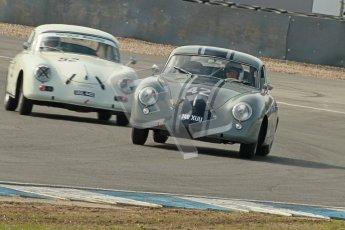 © Octane Photographic Ltd. 2012 Donington Historic Festival. Pre-63 GT, qualifying. Porsche 356 pre-A coupe, Maxted Page. Digital Ref : 0322cb1d9370
