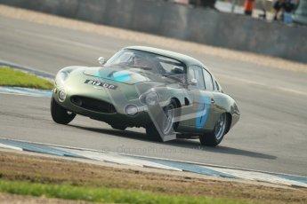 © Octane Photographic Ltd. 2012 Donington Historic Festival. Pre-63 GT, qualifying. Aston Marton DP212 - Wolfgang Friedrichs, David Clark. Digital Ref : 0322cb1d9452