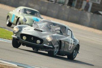 © Octane Photographic Ltd. 2012 Donington Historic Festival. Pre-63 GT, qualifying. Ferrari 250 GT Berlinetta - Lukas Huni, Frank Stippler. Digital Ref : 0322cb1d9495