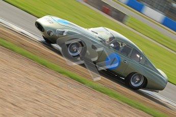 © Octane Photographic Ltd. 2012 Donington Historic Festival. Pre-63 GT, qualifying. Aston Marton DP212 - Wolfgang Friedrichs, David Clark. Digital Ref : 0322cb7d0392