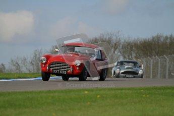© Octane Photographic Ltd. 2012 Donington Historic Festival. Pre-63 GT, qualifying. AC Ace Bristol - Cussons. Digital Ref : 0322lw7d0198