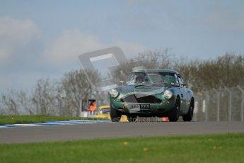 © Octane Photographic Ltd. 2012 Donington Historic Festival. Pre-63 GT, qualifying. Aston Martin DB4 - Robert Rawe. Digital Ref : 0322lw7d0257