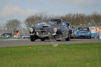 © Octane Photographic Ltd. 2012 Donington Historic Festival. Pre-63 GT, qualifying. Ferrari 250GT Berlinetta - Conrad Ulrich, Willie Green. Digital Ref : 0322lw7d0267