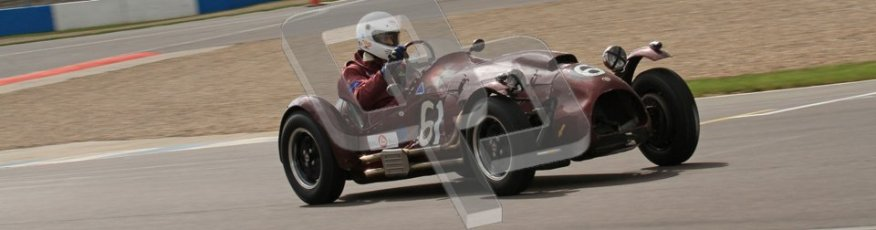 © Octane Photographic Ltd. 2012 Donington Historic Festival. RAC Woodcote Trophy for pre-56 sportscars, qualifying. Cooper Bristol T24/T25 - John ure/Nick Wigley. Digital Ref : 0316lw7d8393