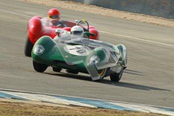 © Octane Photographic Ltd. 2012 Donington Historic Festival. Stirling Moss Trophy for pre-61 sportscars, qualifying. Lotus 17 Prototype - Gabriel Kremer/Dion Kremer. Digital Ref : 0321cb1d9000