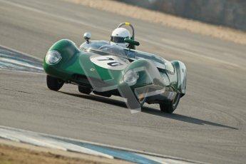 © Octane Photographic Ltd. 2012 Donington Historic Festival. Stirling Moss Trophy for pre-61 sportscars, qualifying. Lotus 17 Prototype - Gabriel Kremer/Dion Kremer. Digital Ref : 0321cb1d9177