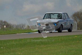 © Octane Photographic Ltd. 2012 Donington Historic Festival. U2TC. BMW 1800 Ti - Roger Cope, Jonathan Gomm. Digital Ref : 0323lw7d0497