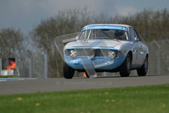 © Octane Photographic Ltd. 2012 Donington Historic Festival. U2TC. Alfa Romeo GT Giulia Sprint - Tom Andrew. Digital Ref : 0323lw7d0553