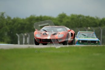 © Octane Photographic Ltd. 2012. Donington Park - General Test Day. Tuesday 12th June 2012. Ford GT40. Digital Ref : 0365lw1d2042