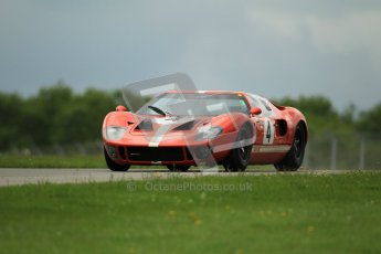 © Octane Photographic Ltd. 2012. Donington Park - General Test Day. Tuesday 12th June 2012. Ford GT40. Digital Ref : 0365lw1d2195