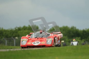 © Octane Photographic Ltd. 2012. Donington Park - General Test Day. Tuesday 12th June 2012. Ex Giunti/Ickx Ferrari 512S. Digital Ref : 0365lw1d2238